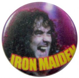 Iron Maiden - 'Steve Close Up' Button Badge